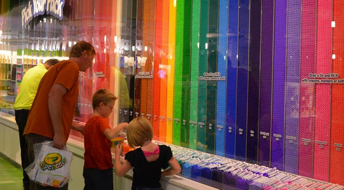 Gift Shop at The Crayola Experience