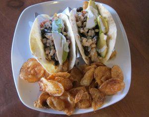 Fish Tacos at Table 105
