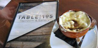 Table105 Menu & Soup