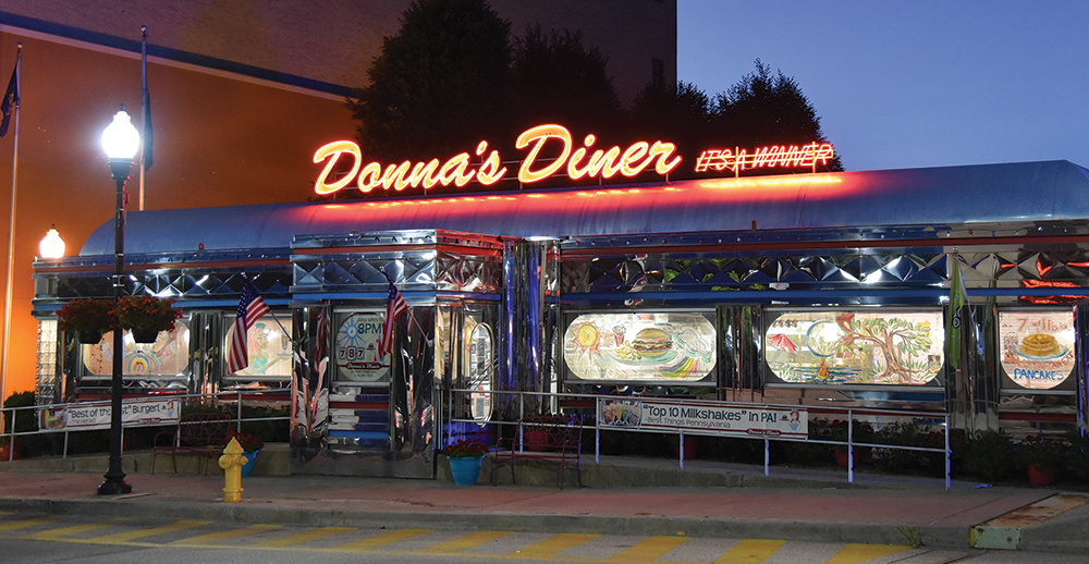 Donna's Diner in Sharon, PA